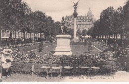 Cp , 75 , PARIS , Square D'Anvers - Squares