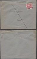 AB547 Lettre De Dendermonde à Gand 1921 +10Cent - Belgium