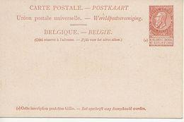 Paquebots De L'Etat Belge-Ligne Ostende-Douvres-Princesse Marie-Henriette.10c. LéopoldII - Entiers Postaux