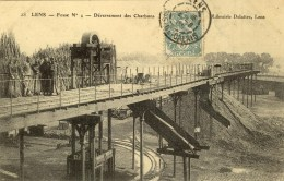 D 62 - LENS - Fosse N° 4 - Déversement Des Charbons - Lens
