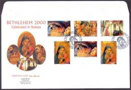 2000 Palestinian Christmas Set F.D.C               (Or Best Offer) - Palestine