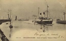 D 62 - BOULOGNE SUR MER - Entrée Du Paquebot Princess Of Wales - Boulogne Sur Mer