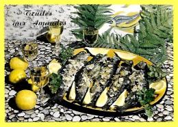 CPSM Recette Cuisine - La TRUITE Aux AMANDES  « PRIX FIXE Et Net » - Recettes (cuisine)