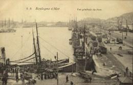 D 62 - BOULOGNE SUR MER - Vue Générale Du Port - Boulogne Sur Mer