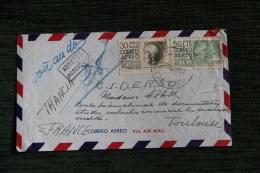 Enveloppe Timbrée MEXIQUE - Spécificitée Adresse Incomplète. - Mexiko