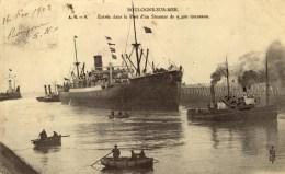 D 62 - BOULOGNE SUR MER - Entrée D'un Steamer - Boulogne Sur Mer