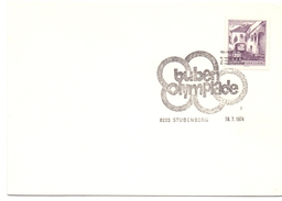 OSTERREICH STUBENBERG BUBEN OLYMPIAADE 1974 (M160224) - Giochi Olimpici
