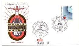BERLIN BONN 53 1973 TURNFEST DEUTSCHES  (M160228) - Francobolli