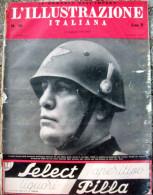 1940 'ILLUSTRAZIONE ITALIANA' FESTE PER IL IV° ANNUALE DELL'IMPERO. FASCISMO - Magazines & Papers