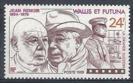 "Wallis YT 385 "" Jean Renoir "" 1989 Neuf** - Wallis-Et-Futuna"