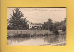 * CPA..dépt 18..SAINT  JEANVRIN :  Château Du Petit Besse  : Voir Les 2 Scans - Frankreich