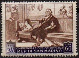 SAINT-MARIN - 60 L. Christophe Colomb Neuf LUXE - Saint-Marin