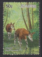 Zaire 1984 Okapi 1v From M/s  ** Mnh (29391) Promotion - Zaïre