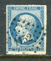 Superbe N° 14A Cachet PC 1152 ( Dunkerque ) - 1853-1860 Napoléon III.