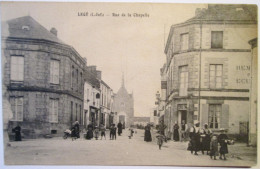 44 LEGE Rue De La Chapelle Voyagée En 1919 Belle Carte - Legé