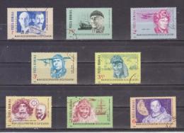 1985 DECOUVREURS ET AVENTURIERS DES TEMPS MODERNES MI= 4220/4227 Et Yv 3643 - Used Stamps
