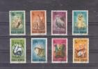 1985 -  PROTECTION DE LA FAUNE  MI No 4133/4140 Et Yv 3563/3570 - Used Stamps