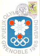 GRENOBLE JEUX OLYMPIQUES D'HIVER   (M160243) - Inverno1968: Grenoble