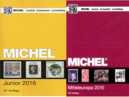 Junior Deutschland+Europa Band 1 MlCHEL 2016 Neu 78€ D AD DR Berlin SBZ DDR BRD A CH FL HU CZ CSR SLOWAKEI UNO Genf Wien - Literatur