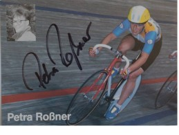 Cyclisme - Petra ROSSNER - Signé De - Dédicace - Hand Signed - Autographe Authentique  - - Cyclisme