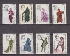 1983 - Interpretes Du Theatre Mi No 3941/3948 Et Yv No 3434/3441 - Used Stamps