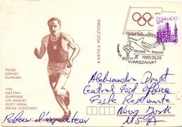 POLAND  KOMITET OLIMPUSKI 1932  WARSZAWA 1985  (M160250)