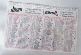 CALENDARIETTO, HENKEL, DIXAN, PERSIL ANNO 1966 - Calendari