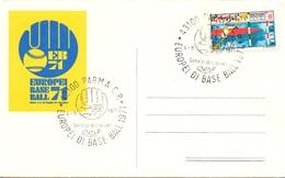 PARMA BASE BALL EUROPEAN CHAMPIONSHIP 1971 (M160254) - Baseball