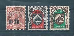 Colonie Algérie Preos De 1944/47  N°14 A 16  Neuf ** - Argelia (1924-1962)