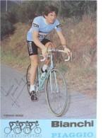 Cyclisme - Serge PARSANI - Signé De - Dédicace - Hand Signed - Autographe Authentique  - - Cyclisme