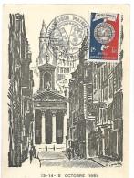 Exposition Philatélique De Paris Du 13,14,15 Octobre 1951 - 1855 – Paris (Frankreich)