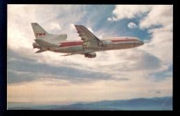 TWA: L-1011. / Postcard Not Circulated - 1946-....: Moderne