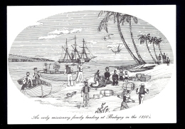 An Early Missionary Family Landing At Badagry In 1850 / Postcard Not Circulated - Nigeria