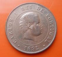 Portugal 20 Reis 1892 A D. Carlos I - Portugal