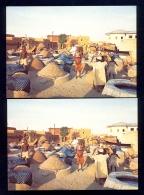 2 The Same Postcard - Dyeing Pit, Kano, Nigeria / Postcard Not Circulated - Nigeria