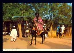 Trumpeter On Horseback / Postcard Not Circulated - Nigeria