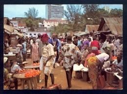 Ibadan, Western State, Dugbe Market / Postcard Not Circulated - Nigeria