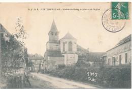 CONTINVOIR - Entrée Du Bourg, Chevet De L'Eglise - Altri Comuni