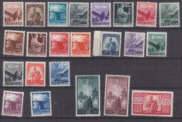 PGL CW056 - ITALIA REPUBBLICA SASSONE N°543/65 ** (563 *) DEMOCRATICA - 1946-.. République