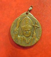 Medallion Medaille Rom Papst Johannes Paul II Glaube Christ Kirche - Elongated Coins