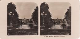 Stereo-Foto (photo Stéréo) 21 Der Rhein -Wiesbaden, Kurhaus- - Photographica