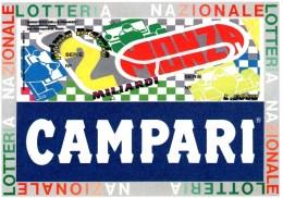 A 4376-  Lotteria, Monza Campari - Cartoline