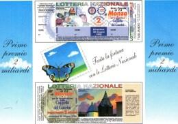 A 4377 -  Lotteria, Monza - Cartoline