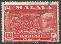 Kedah (Malaysia). 1959-62 Sultan Abdul Halim Shah. 2c Used. SG 105 - Kedah