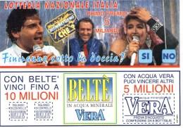 A 4378 -  Lotteria Italia Beltè - Cartoline