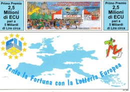 A 4382 -  Lotteria Carpi - Cartoline