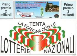 A 4384 -  Lotteria Repubbliche Marinare - Cartoline