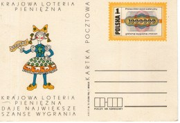 A 4385 -  Lotteria Intero Polska Polonia - Cartoline