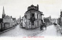 78 Limay Rues De L'église Et Nationale - Limay