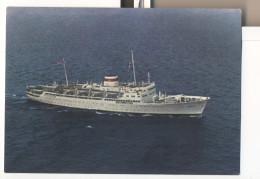 MS GRIGORIY ORDZHONIKIDZE Soviet Motorship Ship Steamer - Dampfer